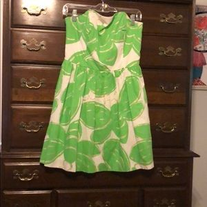 Lilly Pulitzer Lottie Dress in stinger bee size 8